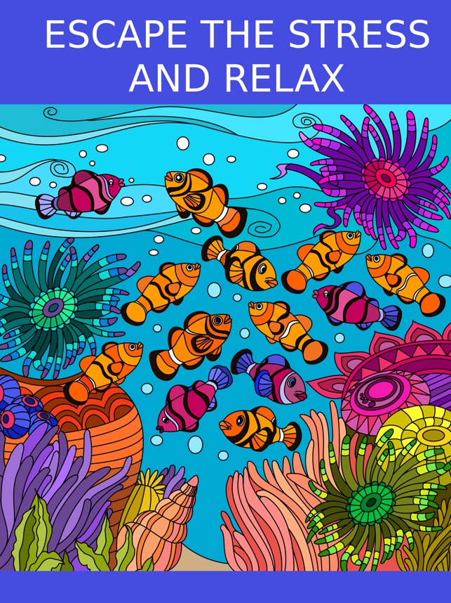 Adult Coloring Book On The App Store