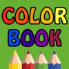 Color book - fingers draw book