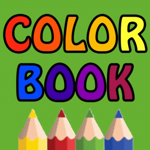 Coloring book - fingers draw