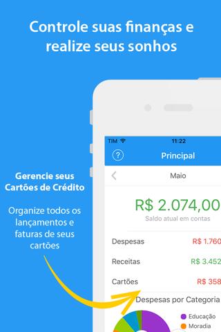 Mobills Controle de Gastos screenshot 1