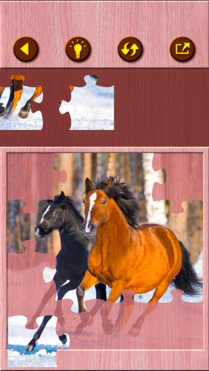 Horse Jigsaw Puzzle Games screenshot-5