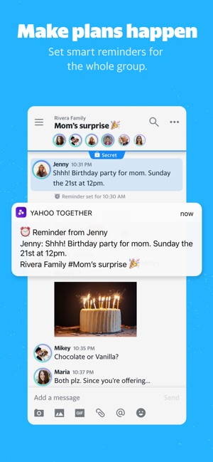 yahoo dating app