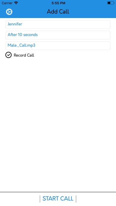Fake Call Number