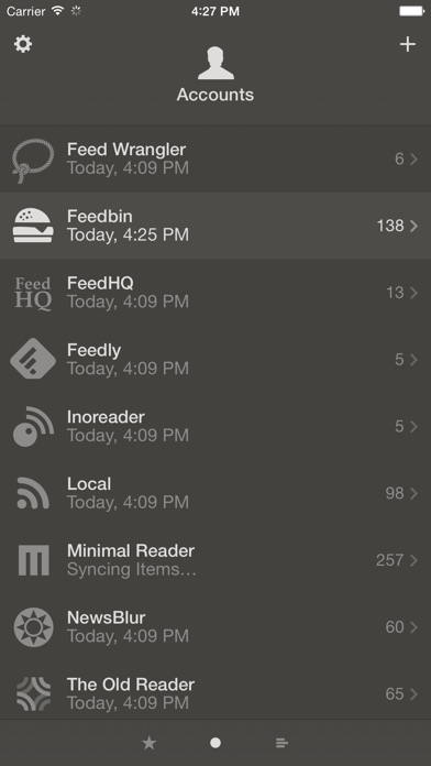 Reeder 3 screenshot1