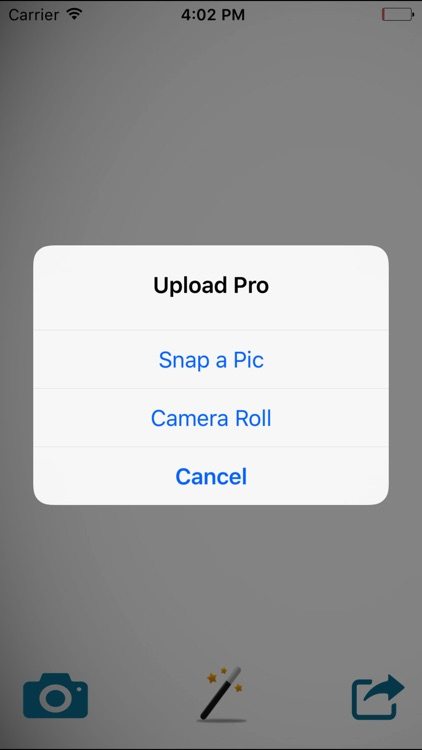 UPLOAD ROLL – SNAP, EDIT, FILTER & UPLOAD TO SHARE screenshot-2