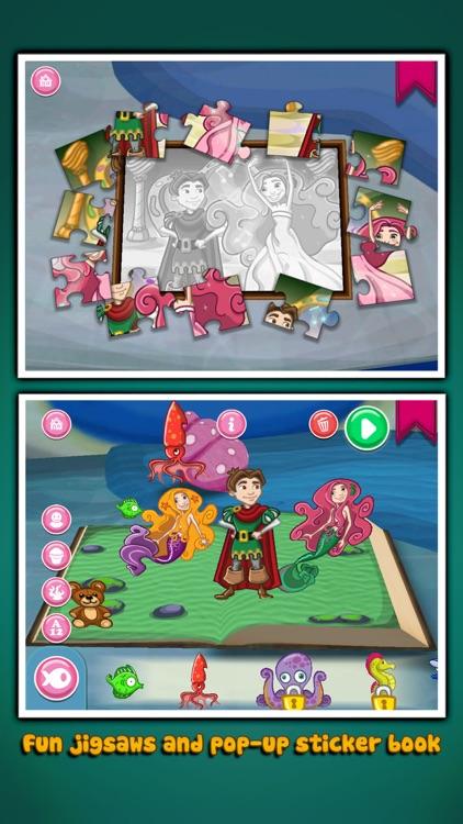 The Little Mermaid ~ 3D Interactive Pop-up Book screenshot-3