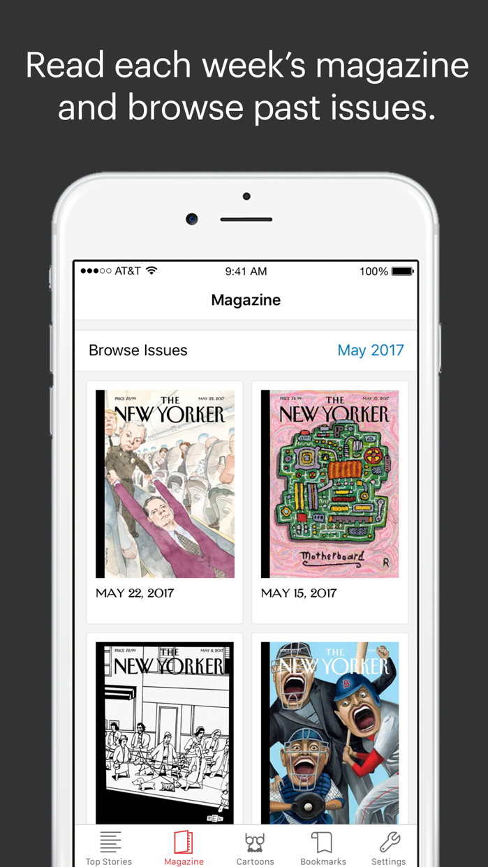 The New Yorker Today Screenshot