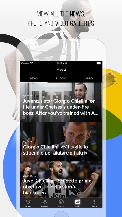 Giorgio Chiellini Official App screenshot-1