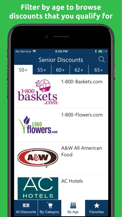 Senior Discounts & Coupons screenshot-2