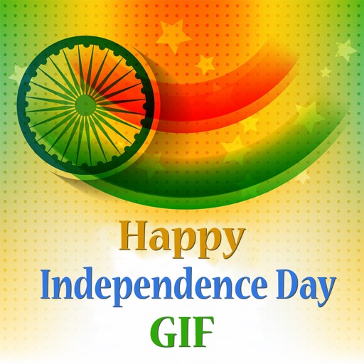 Animated 15 August Independence Day Gif Stickers By Kruti Viradiya
