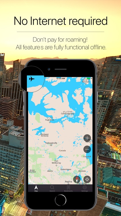 Canada Offline Navigator