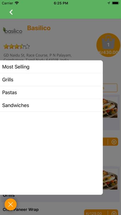 FoodTaxi - Food Ordering App screenshot-3