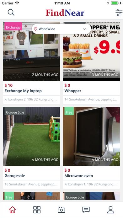 FindNear: Suburban Marketplace screenshot four