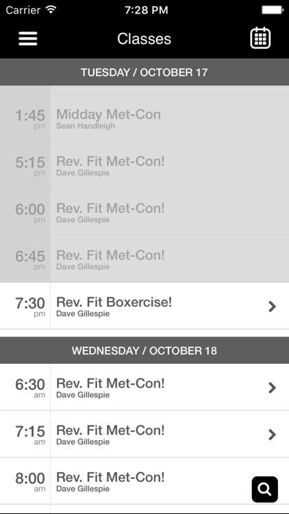 Revolution Fitness Academy screenshot-3