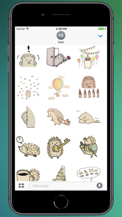 Screenshot for Paper Hedgehod Stickers in Colombia App Store