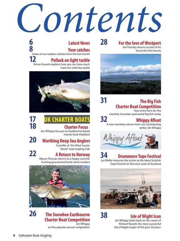 Saltwater Boat Angling screenshot 7