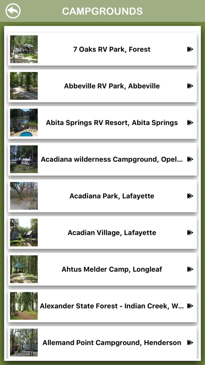 Louisiana Campgrounds Offline screenshot-2