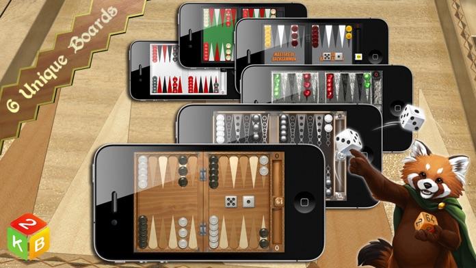 Backgammon Masters Online Screenshot