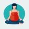 download Women Pregnancy Stickers