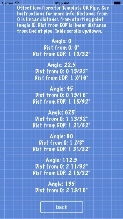 Pipe Saddle Layout Calculator