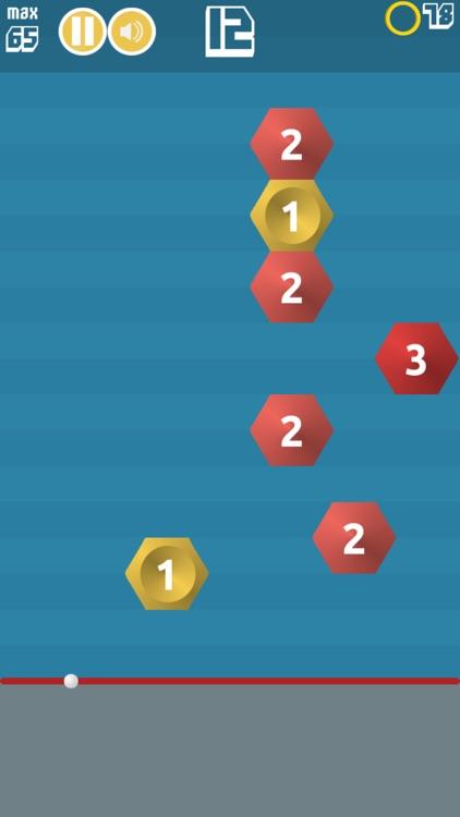 Hexa Bounce screenshot-3