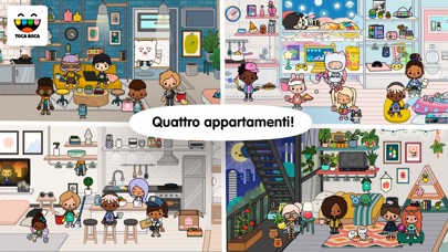 Screenshot for Toca Life: Neighborhood in Italy App Store