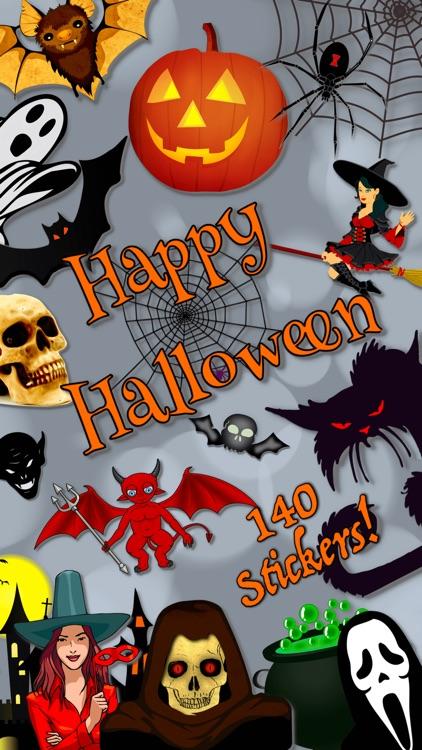 Happy Halloween • 140 stickers