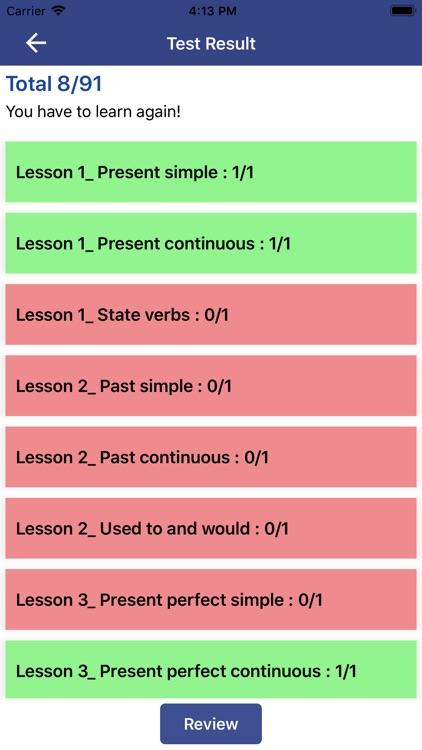 Learn English Grammar Checker screenshot-3