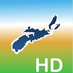 Aqua Map Nova Scotia Lakes HD