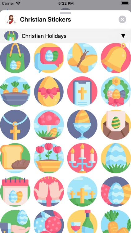 Christian Stickers App screenshot-4