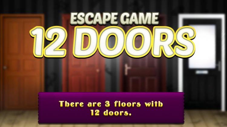 12 Doors Escape Games - start a brain challenge