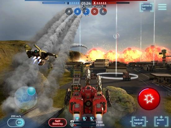 Robot Warfare: Mech Battle screenshot 17