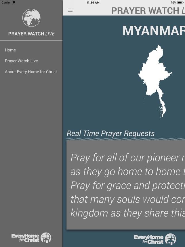 Prayer Watch Live On The App Store