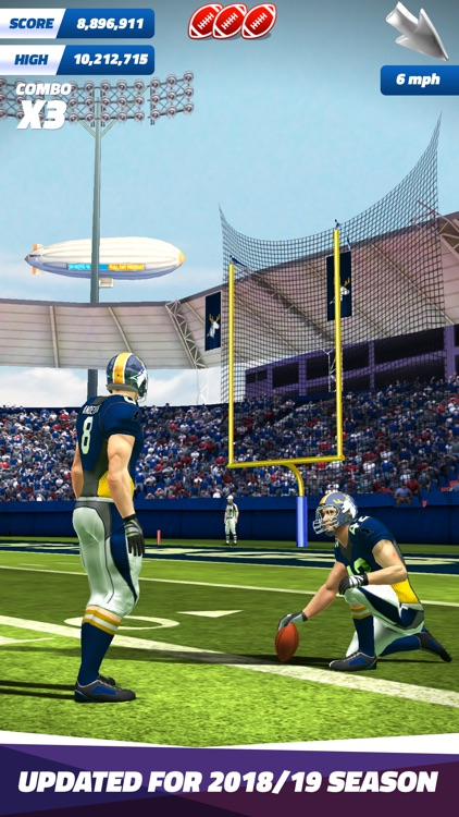 Flick Field Goal 19 screenshot-0