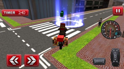 Pizza Delivery Bike Rider Game Screenshot