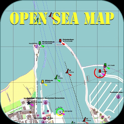Open Sea Map Navigator