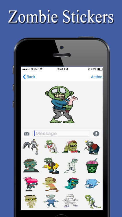 Zombie Stickers Pack