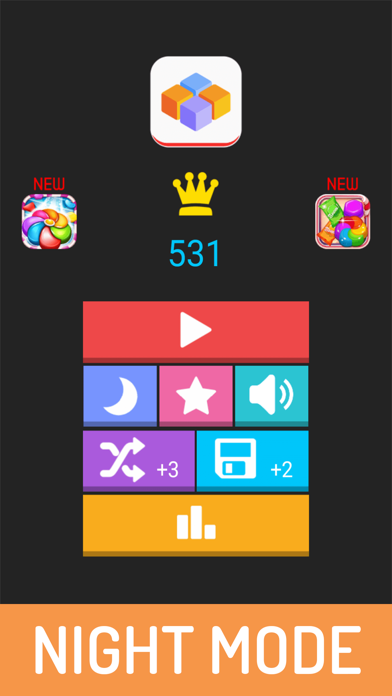 1212 Puzzle Block Game screenshot one