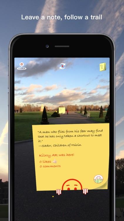 Kilroy AR - Augmented Reality screenshot-0