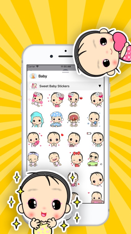Baby Stickers • screenshot-0