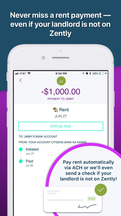 Zently: Pay rent, build credit screenshot-3