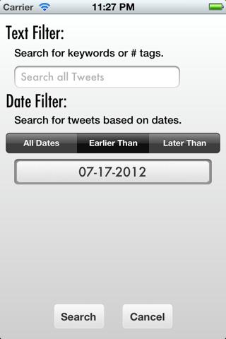 Tweet Cleaner - Delete Tweets - náhled