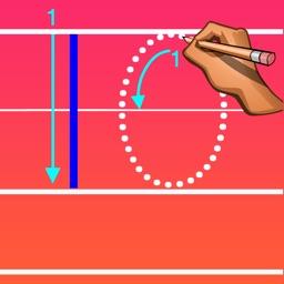 Trace Letter Level 10, Number