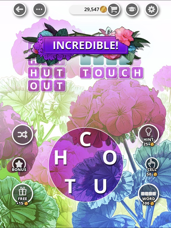 Image of Bouquet of Words - Word Game for iPad