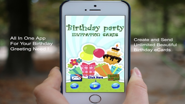 Happy Birthday Card Maker App On The Store