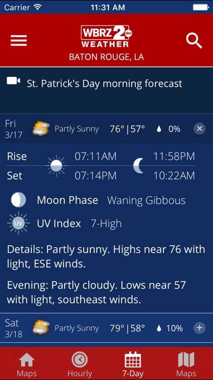 WBRZ Weather screenshot-3
