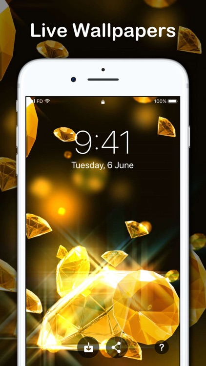 Live Wallpapers for iPhone HD screenshot-1