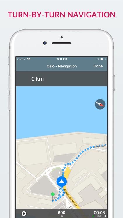 Oslo Offline Map & Guide screenshot-3