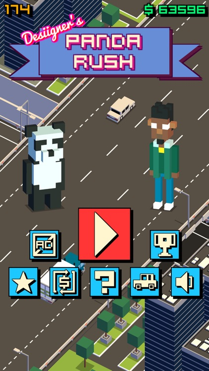 Desiigner's Panda Rush screenshot-0