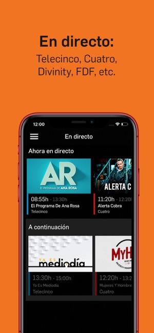 Mitele - TV a la carta im App Store